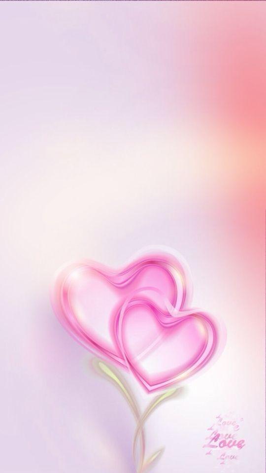 Light Pink 5 Of 10 Heart Wallpaper Love Wallpaper Cellphone Wallpaper