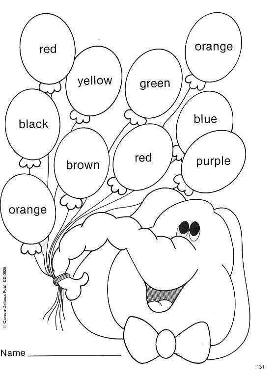 Pin By Chaby On Dibujos English Worksheets For Kids, English Lessons For  Kids, Kids Learning Activities