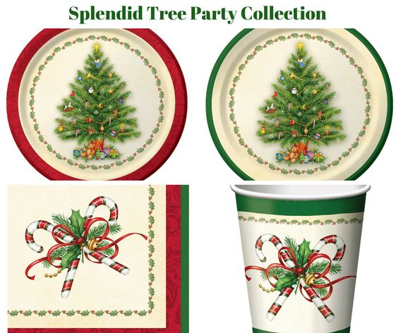 Splendid Tree Party Banner