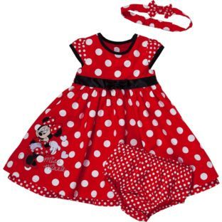 Buy Disney Minnie Mouse Baby Girls' Dress Set - 3-6 Months at Argos.co.uk - Your Online Shop for Girls' baby clothes.