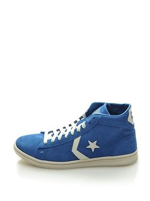 Converse Sneaker Pro Leather Lp Mid Suede (Blu)