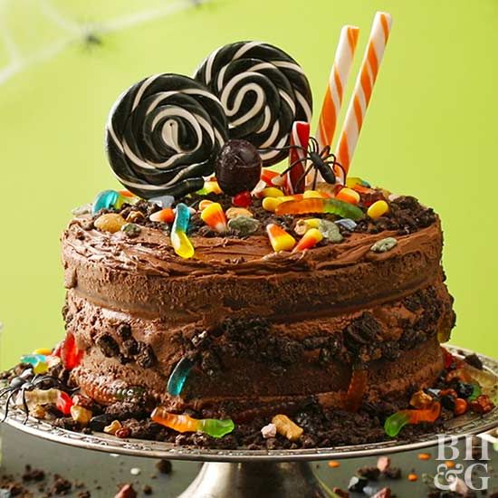 Boo Tiful Dirt And Worms Cake Recipe In 2020 Worm Cake Cake