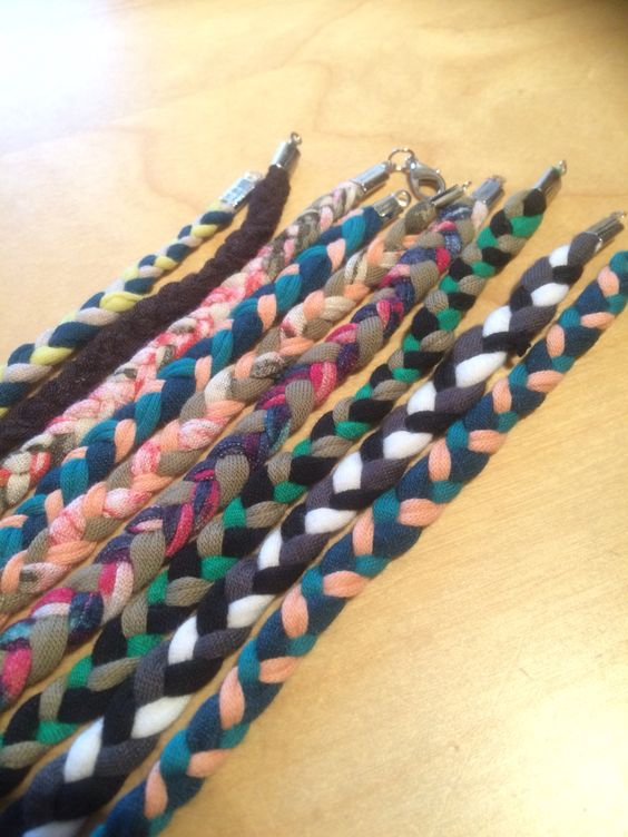DIY stoffen armbanden