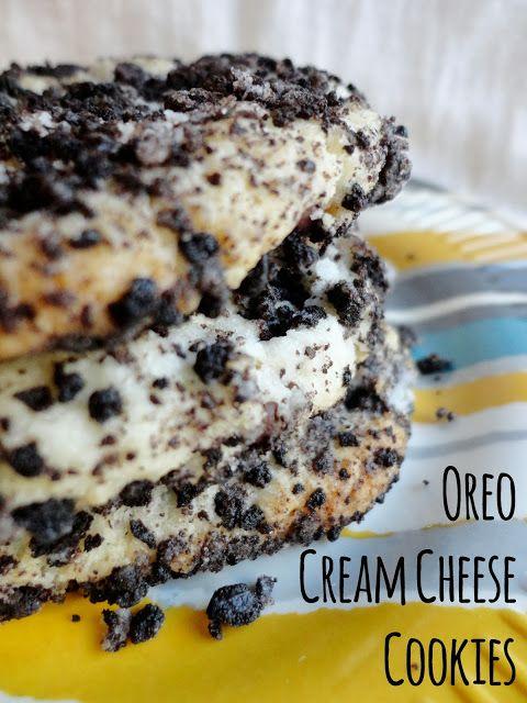 Oreo Cream Cheese Cookies