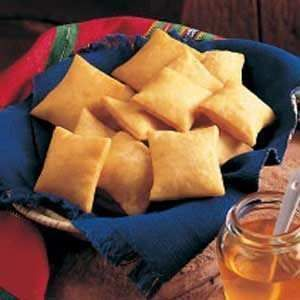 Sopaipillas. Loved these when I was a kid