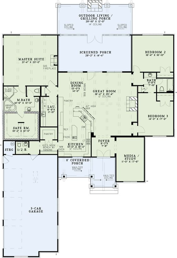 House Plan 82333 House Islands And Trips