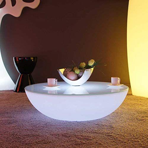 Table Basse Lumineuse Led Multicolore Moon Light En 2020 Table Basse Lumineuse Table Basse Led Table Basse