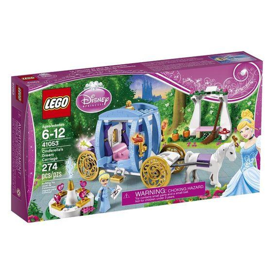 LEGO Disney Princess Cinderella's Dream Carriage Free Shipping  #LEGO