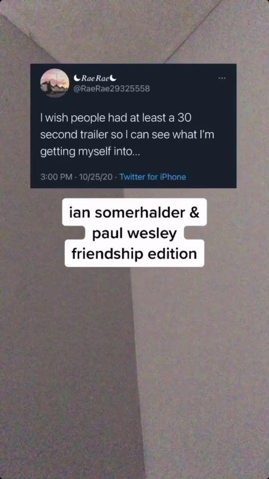 Paulwesley Hashtag Videos On Tiktok In 2021 Paul Wesley Ian Somerhalder Cards Against Humanity