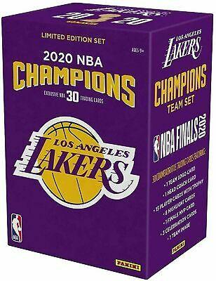 Los Angeles Lakers 2020 Nba Finals Champions Panini 30 Card Team Set Ebay In 2020 Lakers Championships Nba Champions Lakers