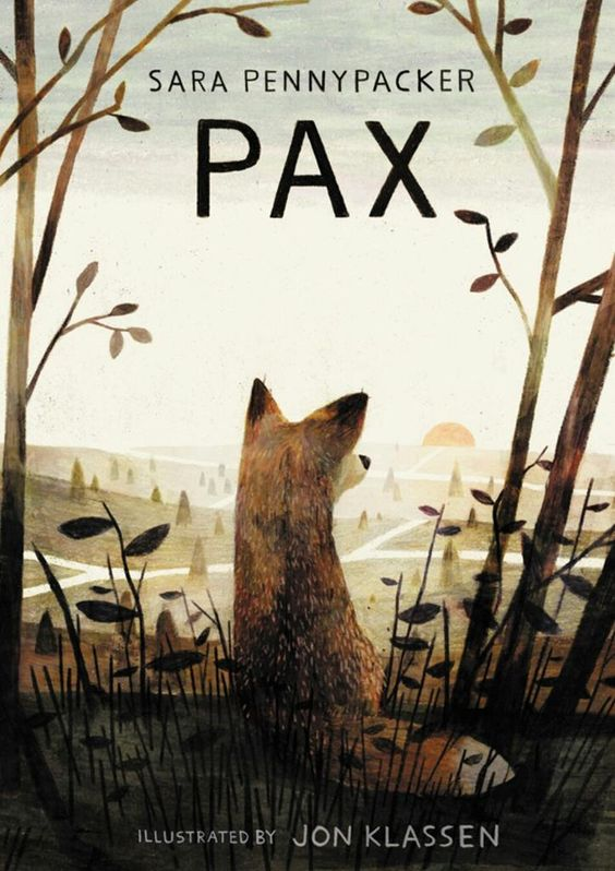 GUYS - PW did a cover reveal thing for PAX. It's a great great book & I get to draw foxes.  http://www.publishersweekly.com/pw/by-topic/childrens/childrens-book-news/article/67142-cover-reveal-pax.html…