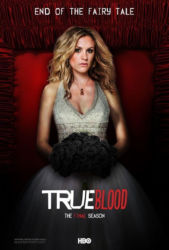 True Blood: The Final Season (Posters) by Emre Ünaylı, via Behance: