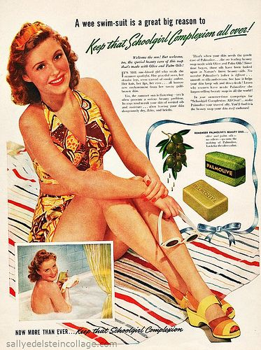 Summer of 42 Palmolive Soap Ad