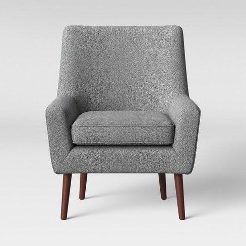 Brilliant 2Pc Englund Chair And Ottoman Dark Green Velvet Project 62 Spiritservingveterans Wood Chair Design Ideas Spiritservingveteransorg