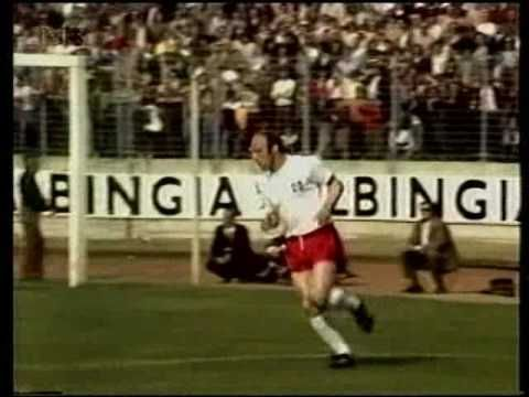1972 Hamburg 3 X 7 Europe Xi Uwe Seeler Farewell Game Hamburger Sv Europe Soccer Field