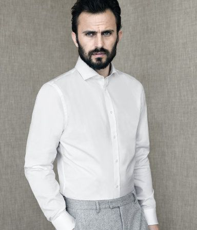 White shirts? This man at our wedding?