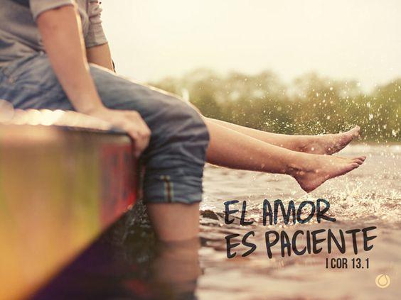 El amor es paciente