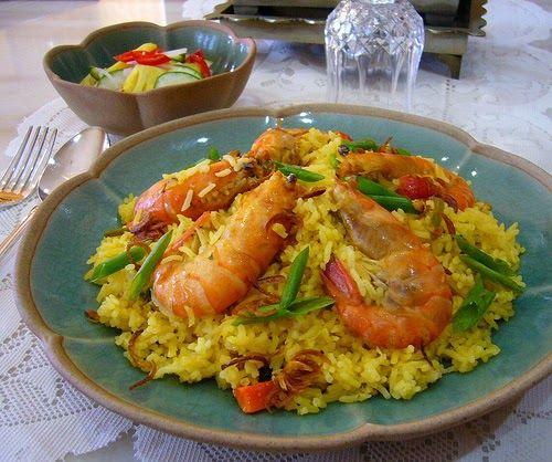 Nasi Beriani Udang Dapur Tanpa Sempadan