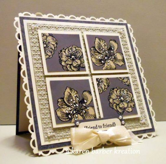 CC371 - SHADES OF GRAY.... by Karen B Barber - Cards and Paper Crafts at Splitcoaststampers
