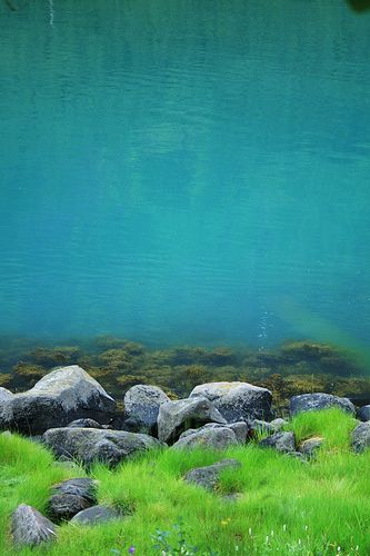 Tverrfjord - Norway: the most amazingly vibrant colors