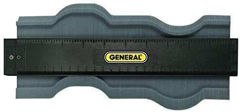 6-Inch General Tools 837 Contour Gauge Duplicator