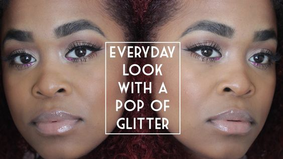 Everyday Look with a Pop of Glitter
