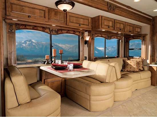 Hmmm...should We Rent A Luxury RV To Get There And Back? With Plenty Of  Space To Hold Our Goodies? No UPS Shipping, No Airfare?