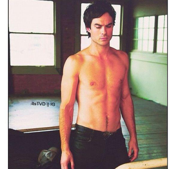 Ian...hot hot hot... #TVD