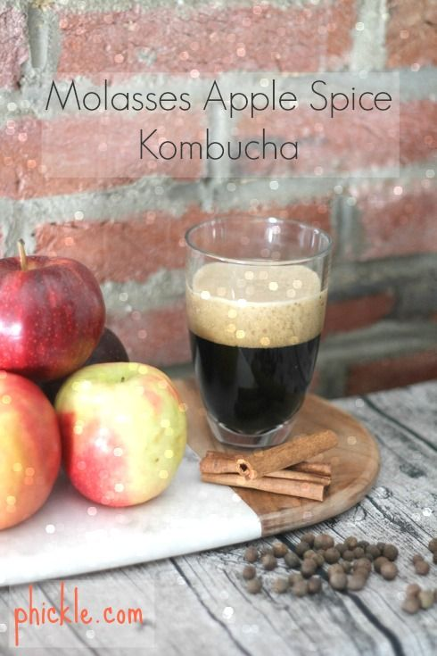Curl up with a cup of winter-friendly booch. | One of my favorite cold weather kombucha flavors |