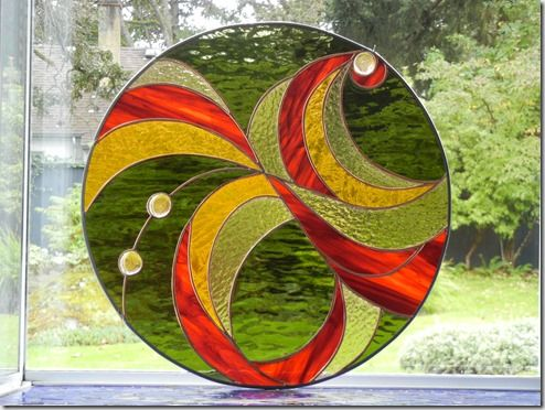 Someday, I will make stain glass everything.  It will be so pretty and I will wait for the sun to shine just right on it and I will sit in the glow and watch it reflect on the wall and I will be happy that finally I knew I should have started ages ago.