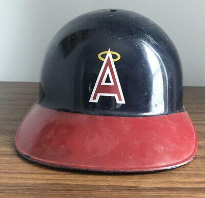 Vintage Los Angeles Angels Plastic Baseball Helmet Original Owner In 2020 Baseball Helmet Vintage Los Angeles Los Angeles Angels