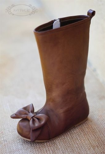 Joyfolie - Maci Brown Girl Boots Fall 2012; cutest boots ever & I finally found a size for Hadley