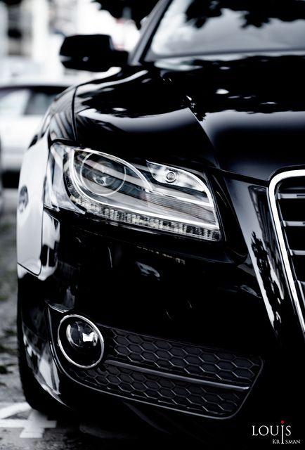 ♂ Black car Audi A5 Sportback by Louis Krisman