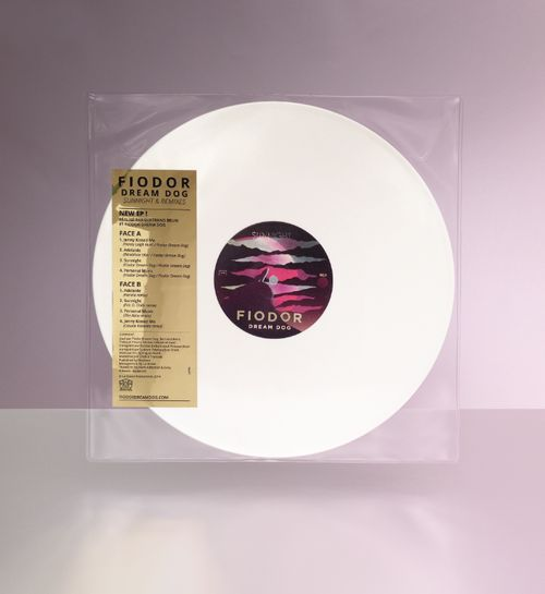 lp vinyl packaging  FIODOR DREAM DOG ©dadamint