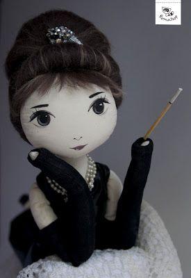 RomaSzop: Dla Miłośniczki Audrey Hepburn :)