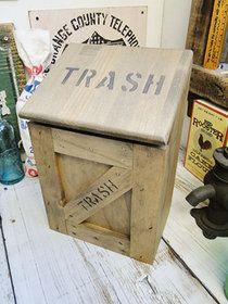 【楽天市場】ミニ トラッシュボックス(Aタイプ/うす茶) ★ゴミ箱 アメリカ雑貨 アメリカン雑貨 アメ雑貨:アメリカ雑貨通販キャンディタワー