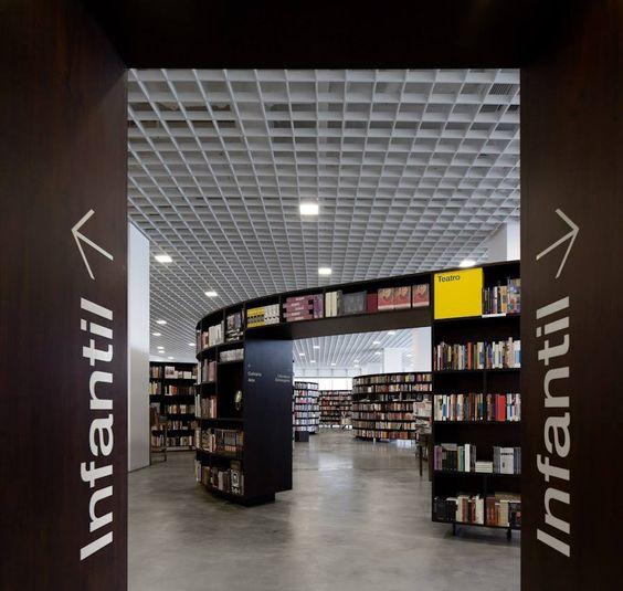 Isay Weinfeld, Livraria da Vila Shopping JK, Iguatemi, S.Paulo, Brasil   © Fernando Guerra, FG+SG Architectural Photography