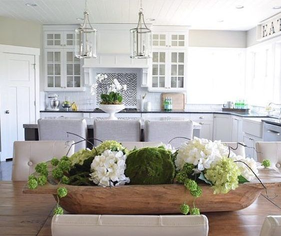 Friday S Faves The Happy Housie Dining Table Centerpiece Kitchen Table Decor Dining Room Centerpiece