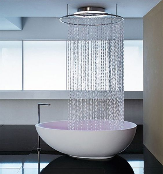 Free standing tub shower bathroom pinterest home for Free standing bath tub