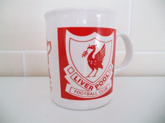 FC Liverpool Metallic Skyline Tasse