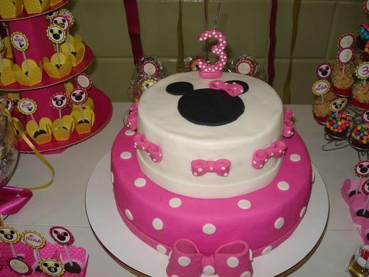 Minnie bday cake idea
