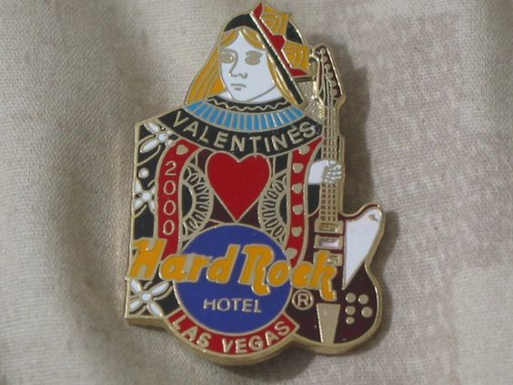 A Junkee Shoppe Junk Market Stop: HARD ROCK Hotel Las Vegas 2000 Staff Valentine Pinback ... For Sale Click Link Here To View >>>> http://ajunkeeshoppe.blogspot.com/2015/12/hard-rock-hotel-las-vegas-2000-staff.html