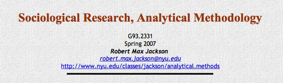 Sociological Research Proposal  Great Outline Of Components Of A