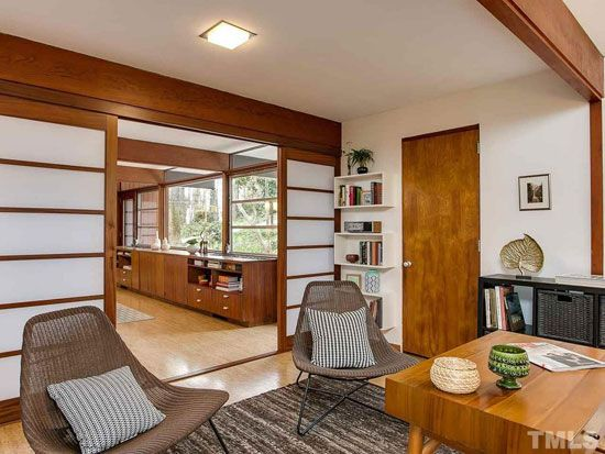 1950s George Matsumoto midcentury property in Chapel Hill, North ...