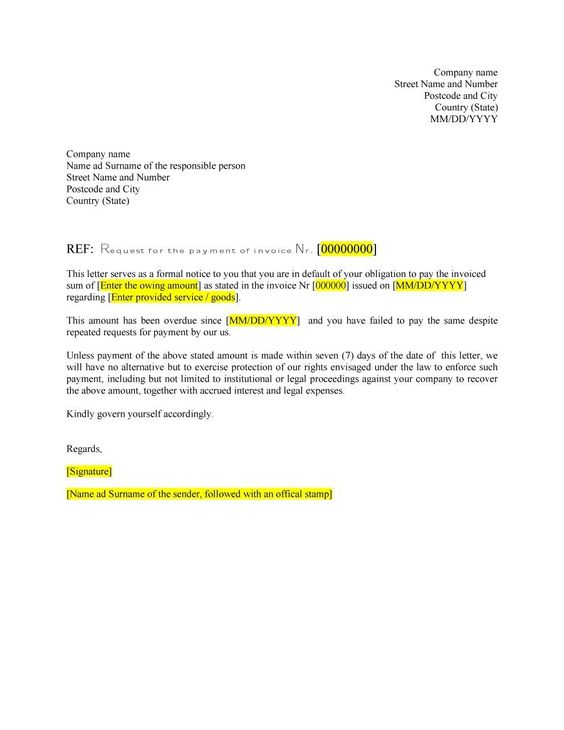 formal business letter 07 letterhead Pinterest Formal - business letter formats