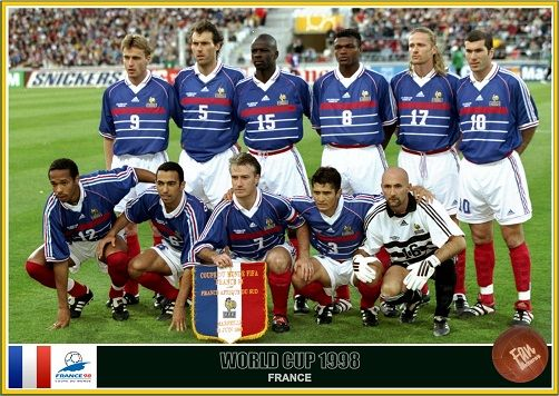 Fan pictures - 1998 FIFA World Cup France. France team | Futebol ...