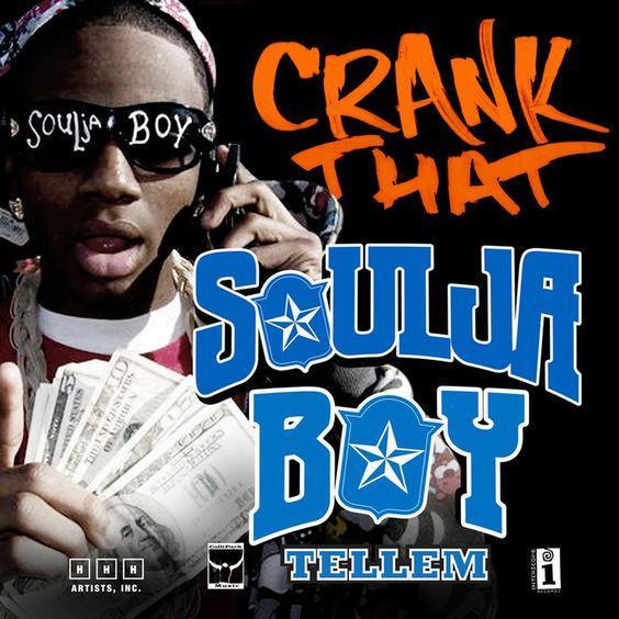 Soulja Boy – Crank That (single cover art)
