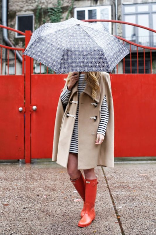 優雅時尚地享受春雨的洗禮!