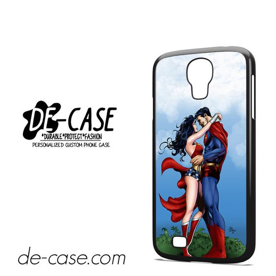 Center Camera Superman And Wonderwoman DEAL-2486 Samsung Phonecase Cover For Samsung Galaxy S4 / S4 Mini