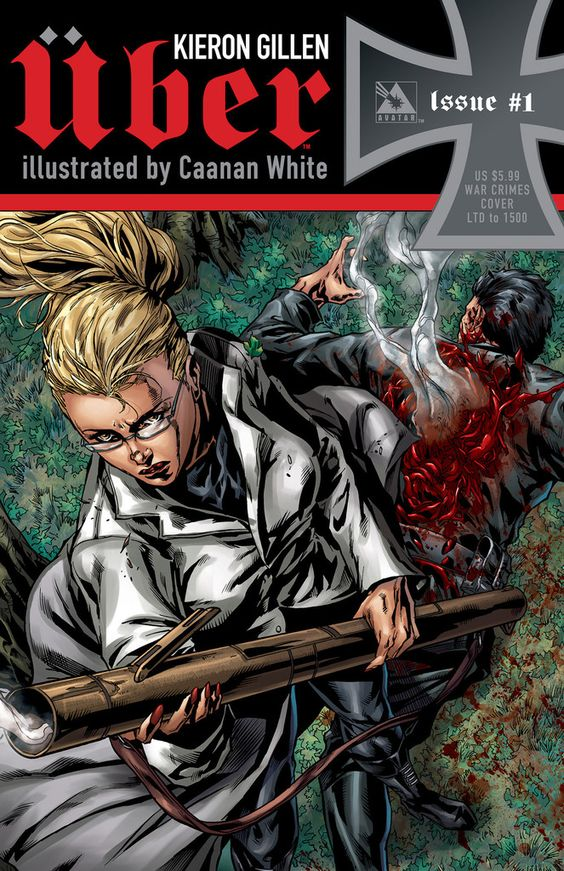 #Uber #1 (War Crimes Cover - Limited 1500) #Avatar (Cover Artist: Canaan White) Release Date: 1/1/2014